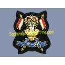 9TH 12TH ROYAL LANCERS BERET CAP BADGE