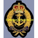 Merchant Navy Cap Badge