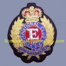 Embroidered Cap Badge
