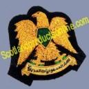 Libyan Police Cap Badge