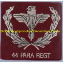 44 Parachute Battalion Jacket Pocket Badge