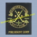Pocket Badge (Golf Club President 2007)