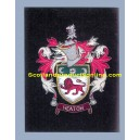 Heaton Family Crest/Coat Of Arms