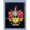 Busby Family Crest/Coat Of Arms