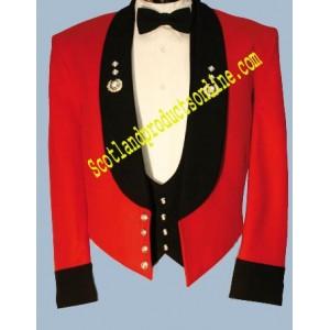 Royal Marines Officer Mess Jacket With Waistcoat
