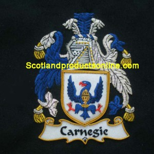 Carnegis Family Crest/Coat Of Arms