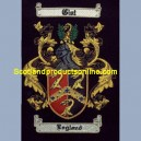 England Family Crest/Coat Of Arms