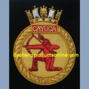 Cayuca Ship Badge
