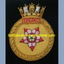 HMCS Huron Ship Badge