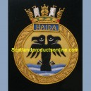 HMCS Haida Ship Badge