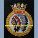 The Canadian Navy HMCS Sioux Ship Badge
