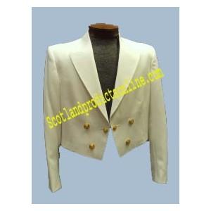 Off-White Cotton Mess Jacket