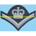 1 Bar Embroidery Chevron With Crown