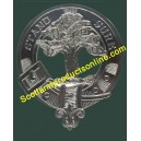 "Metal Cap Badge ""Stand Sure Clan Anderson Scottish Clan"""