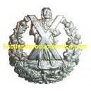 "Metal Cap Badge ""Cameron Black Watch"""