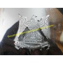 "Metal Cap Badge ""Royal Scots Dragoon Guard"""