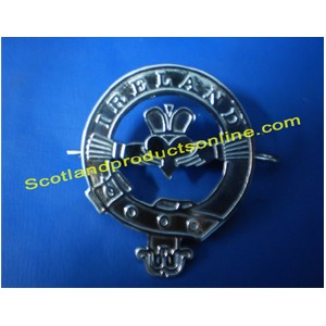 Ireland Metal Cap Badge
