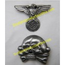 "Metal Cap Badge ""Replica Of SS Early Version"""