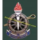 """Metal Cap Badge """"Voortrekkers Hou Koers"""""""