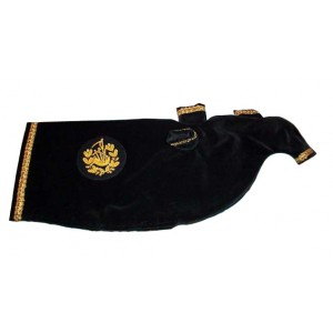 Bagpipe Cover With Embroidery Bagpipe Badge