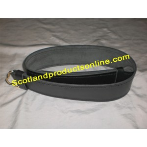Piper and Drummer Leather Waist Belt without Buckle