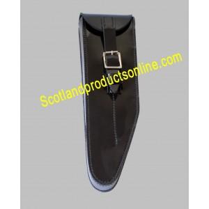 Black PVC Flute Pouch