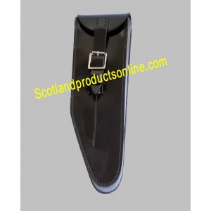 Black PVC Piccolo Pouch