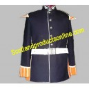 Navy Blue Marching Band Jacket Coat