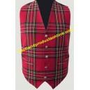Royal Stewart Tartan Waistcoat/Vest