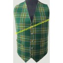 Traditional Irish Tartan Waistcoat/Vest