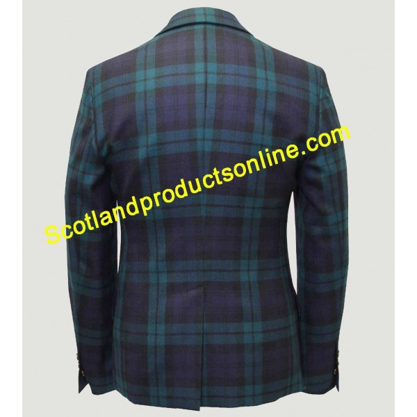 Black Watch Tartan Jacket