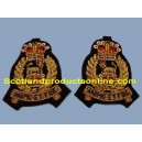 Adjutant General Corps Collar Badges