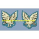 Army Air Corps Mess Dress Collar Badges