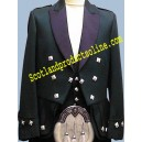 Green Regulation Doublet With Waistcoat