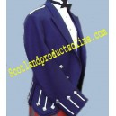 Regulation Doublet & Vest In Royal Blue & Metallic Braid