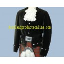 Kenmore Kilt Doublet In Velvet With Waist Belt Free