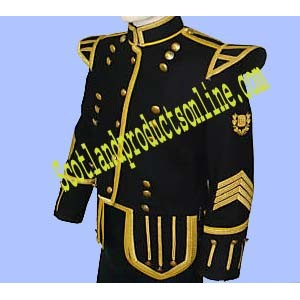Military Pipe Band Piper/Drummer Doublet Jacket