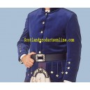 Kenmore Doublet In Velvet With Waist Belt Free