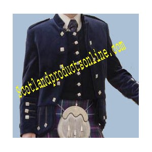 Sheriffmuir Doublet and Vest in Velvet
