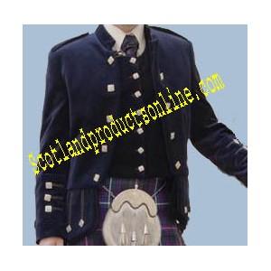 Sheriffmuir Doublet and Vest in Velvet