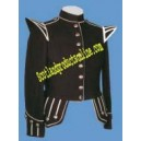 Dark Brown Pipe Band Doublet Jacket