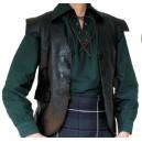 Jacobite Leather Waistcoat