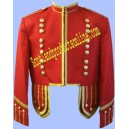Red Pipe Band Doublet Jacket