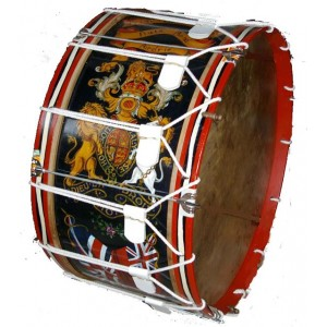 Pipe Band Bass Drum made by wooden