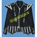 Black Pipe Major Doublet Jacket