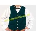 Green Argyll Waistcoat (Vest)