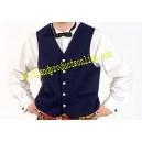 Navy Blue Argyll Waistcoat