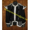 Black Piper/Drummer Doublet Jacket