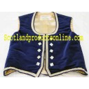 Navy Blue Highland Dancing Vest