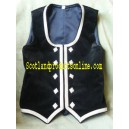 Dark Green Girls Highland Dancing Vest
